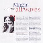 MAGIC ON THE AIRWAVES